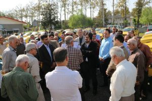 photo 2016 09 29 13 15 44 300x200 - 77 دستگاه تاکسی در ناوگان حمل ونقل لاهیجان نوسازی شدند
