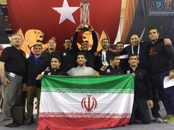 ایران قهرمان رقابت های کشتی آزاد دانشجویان جهان شد + تصاویر