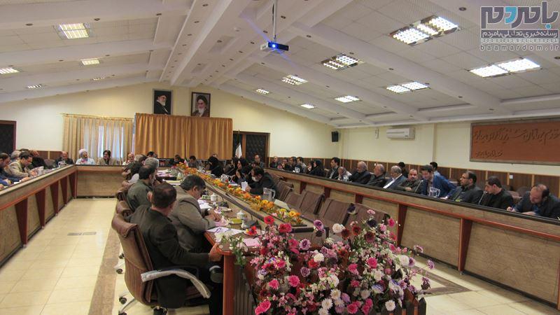 جلسه شورای اداری شهرستان لاهیجان