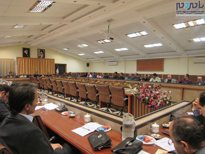 جلسه پدافند غیر عامل و ستاد مدیریت بحران شهرستان لاهیجان