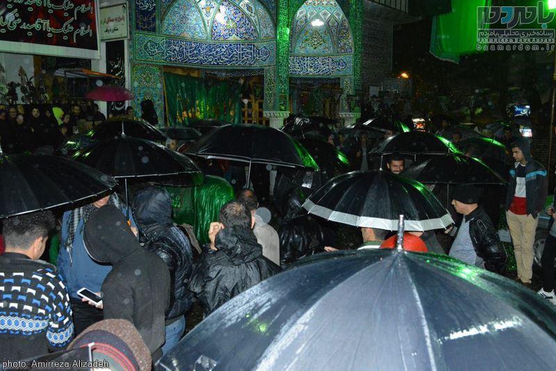 شب هفتم امام حسین(ع) شکوه عزاداری حسینی در لاهیجان