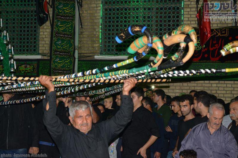 عزاداری روز سوم شهادت امام حسین(ع) در لاهیجان
