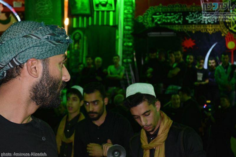 مراسم عزاداری در هفتمین شب ماه محرم در لاهیجان 13 - مراسم عزاداری در هفتمین شب ماه محرم در لاهیجان