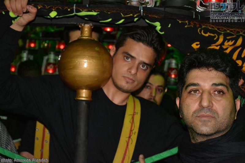 مراسم عزاداری در هفتمین شب ماه محرم در لاهیجان 14 - مراسم عزاداری در هفتمین شب ماه محرم در لاهیجان