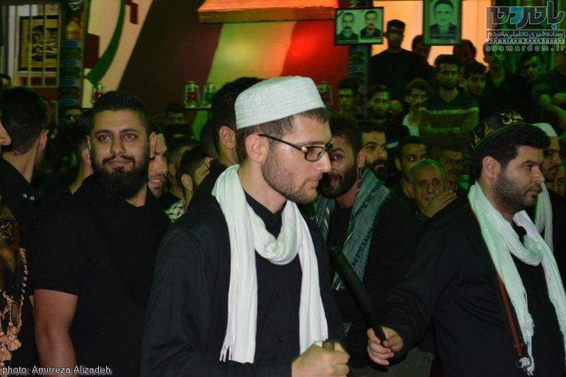 مراسم عزاداری در هفتمین شب ماه محرم در لاهیجان 17 - مراسم عزاداری در هفتمین شب ماه محرم در لاهیجان
