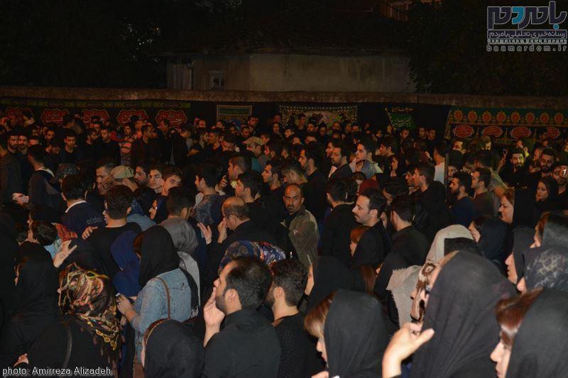 مراسم عزاداری در هفتمین شب ماه محرم در لاهیجان 2 - مراسم عزاداری در هفتمین شب ماه محرم در لاهیجان