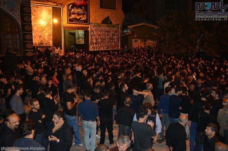 مراسم عزاداری در هفتمین شب ماه محرم در لاهیجان 32 - مراسم عزاداری در هفتمین شب ماه محرم در لاهیجان