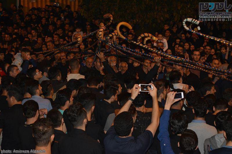 مراسم عزاداری در هفتمین شب ماه محرم در لاهیجان 34 - مراسم عزاداری در هفتمین شب ماه محرم در لاهیجان