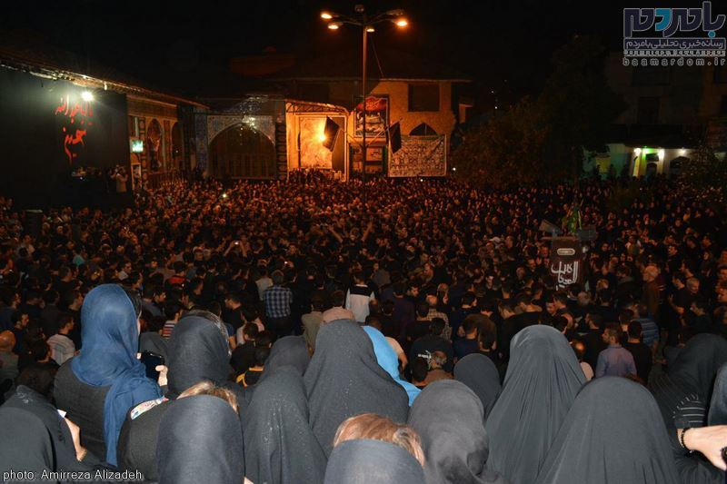 مراسم عزاداری در هفتمین شب ماه محرم در لاهیجان 35 - مراسم عزاداری در هفتمین شب ماه محرم در لاهیجان