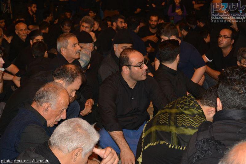 مراسم عزاداری در هفتمین شب ماه محرم در لاهیجان 36 - مراسم عزاداری در هفتمین شب ماه محرم در لاهیجان