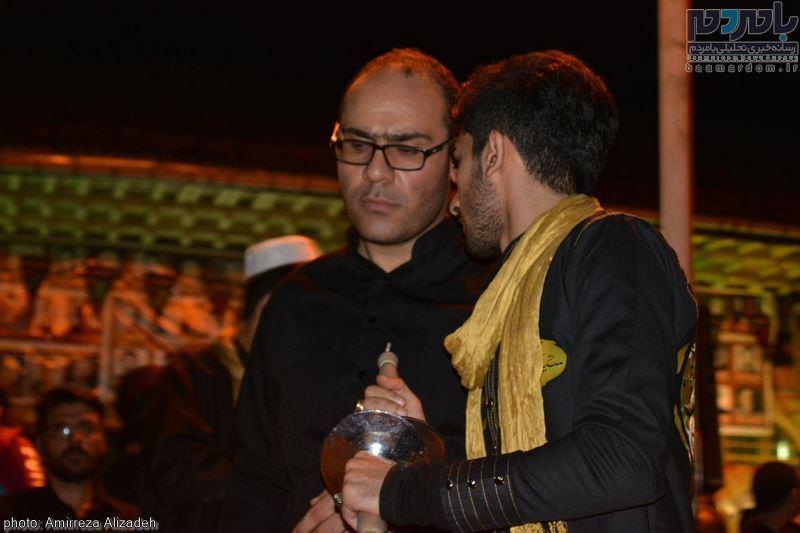 مراسم عزاداری در هفتمین شب ماه محرم در لاهیجان 6 - مراسم عزاداری در هفتمین شب ماه محرم در لاهیجان