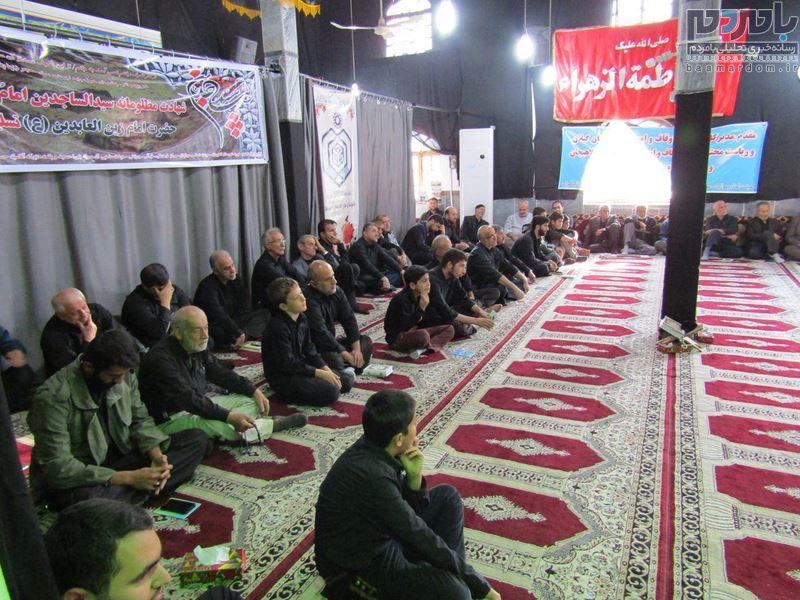 مراسم پرفیض دعای ندبه در بازکیاگوراب برگزار شد + تصاویر