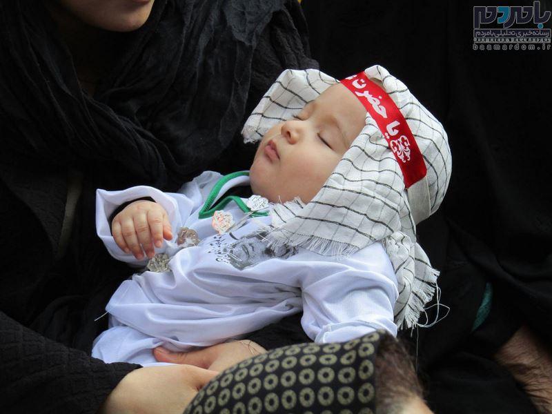 همایش شیرخوارگان حسینی در لاهیجان