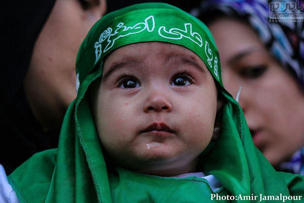 همایش شیرخوارگان حسینی در چهار پادشاهان لاهیجان