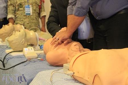 برگزاری کارگاه تئوری و عملی دو روزه CPR در بیمارستان فوق تخصصی ولیعصر رشت