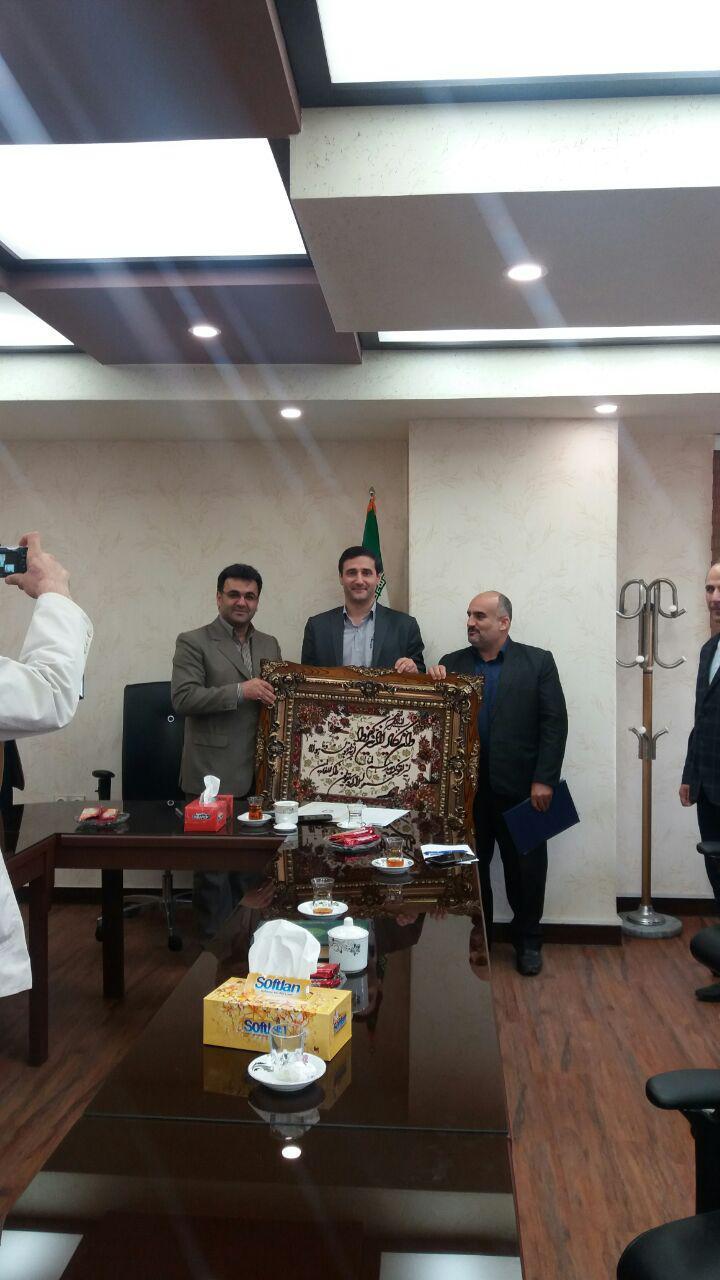 رئیس جدید اداره محیط زیست شهرستان شفت منصوب شد + تصاویر