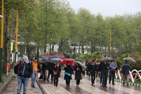 باران 3 600x400 - آغاز نوروز ۹۸ با باران در گیلان