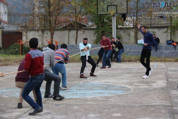 دومین جشنواره ورزش های همگانی در لاهیجان