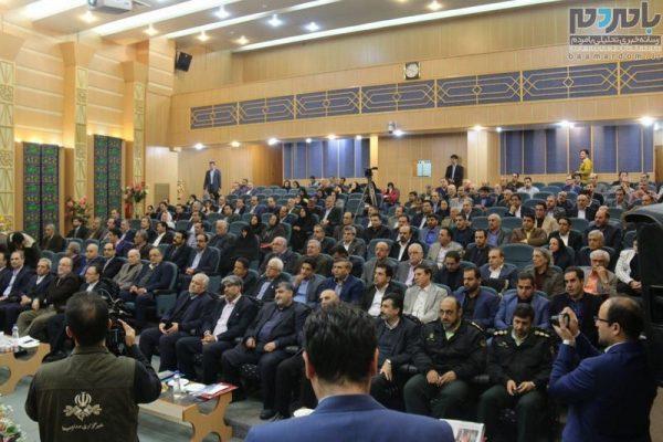 مراسم تجلیل از صادرکنندگان نمونه گیلان و گرامیداشت روز صادرات با حضور رئیس اتاق بازرگانی ایران