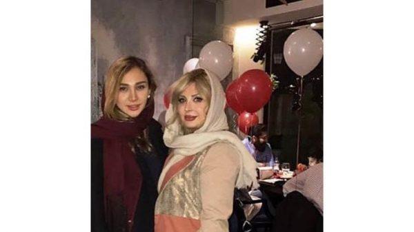 نیوشا ضیغمی و خواهرش روشا در یک قاب! +عکس