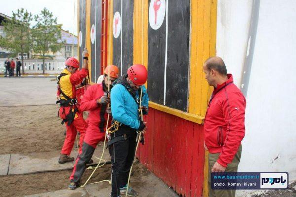 نخستین دوره مسابقات صعود و فرود در رشت برگزارشد + تصاویر