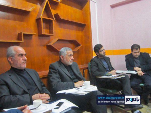 نشست مجمع مشورتی توسعه شهرستان لاهیجان برگزار شد + تصاویر
