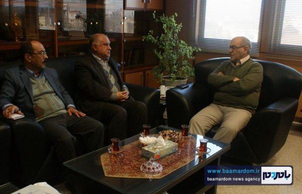 مدیرعامل شرکت گاز گیلان با مدیر انجمن خیریه حمایت از بیماران کلیوی گیلان دیدار کرد + تصاویر