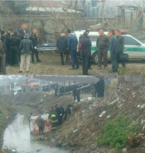 جسد متعلق به زنی اهل و ساکن لاهیجان است   تحقیقات تکمیلی ادامه دارد + عکس