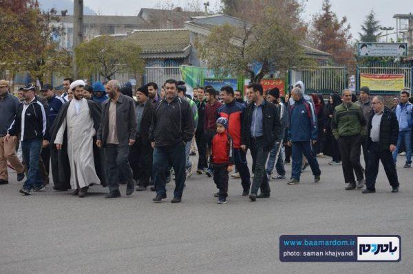 همایش پیاده روی خانوادگی حرم تا حرم در لاهیجان برگزار شد + تصاویر