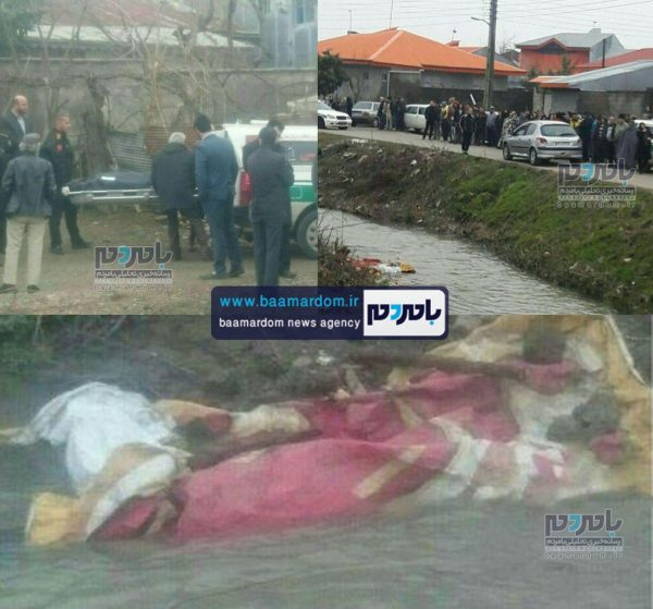 کشف جسد یک زن در رودخانه پسیخان رشت | آیا جسد کشف شده مربوط به زن لاهیجانی است؟ + تصاویر