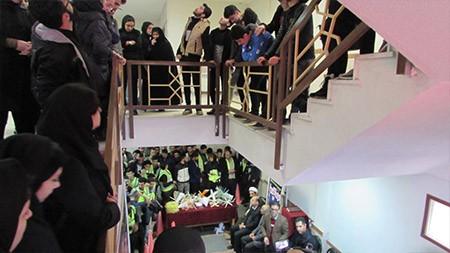 مسابقه «نجات تخم مرغ» در دانشگاه سما لاهیجان برگزار شد + تصاویر
