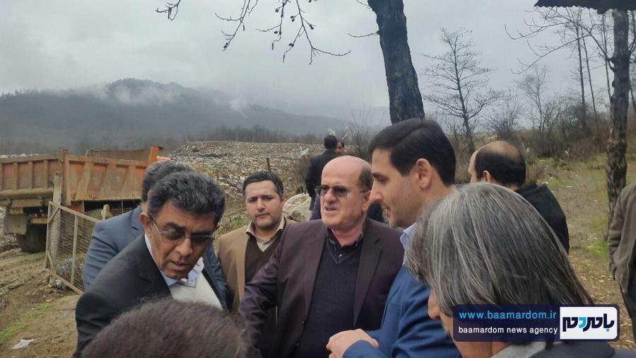 تذکر جدی مدیرکل حفاظت محیط زیست استان گیلان به شهردار لنگرود + تصاویر