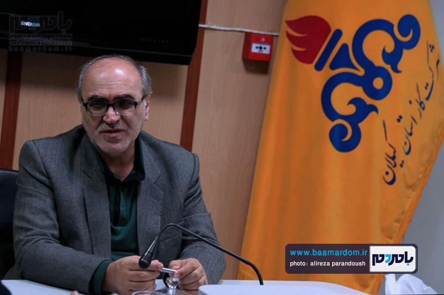 ظهیری مدیرعامل شرکت گاز استان گیلان 4 - بهره مندي گاز روستايي در سياهكل به 80 درصد مي رسد