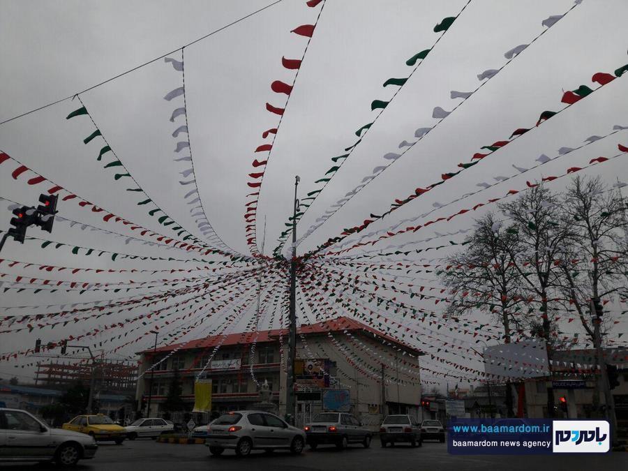 دهه فجر لاهیجان 1 - شهرداري لاهيجان به استقبال دهه فجر رفت + تصاویر