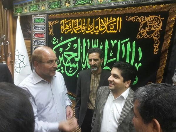 شهردار و قالیباف 1 - از تبلیغ «جهاد ادامه دارد» تا هدیه نمادین به «برادر عزیز» قالیباف!