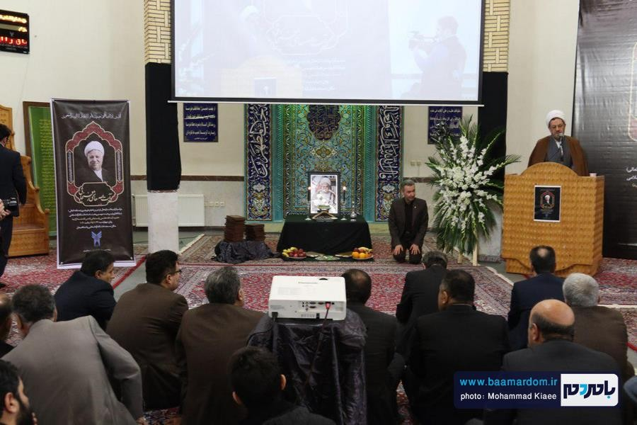 مراسم گرامیداشت ارتحال آیت الله هاشمی در دانشگاه آزاد لاهیجان 34 - مراسم گرامیداشت ارتحال آیت الله هاشمی در دانشگاه آزاد لاهیجان