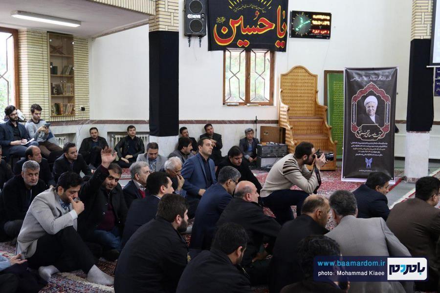 مراسم گرامیداشت ارتحال آیت الله هاشمی در دانشگاه آزاد لاهیجان 35 - مراسم گرامیداشت ارتحال آیت الله هاشمی در دانشگاه آزاد لاهیجان