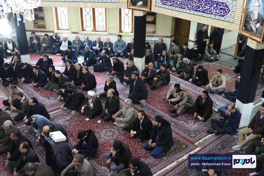مراسم گرامیداشت ارتحال آیت الله هاشمی در دانشگاه آزاد لاهیجان