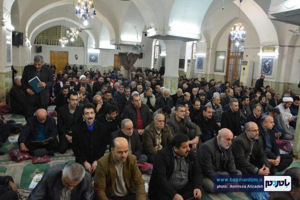 مراسم گرامیداشت ارتحال آیت الله هاشمی رفسنجانی در لاهیجان