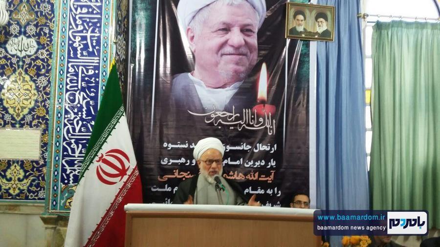مراسم گرامیداشت ارتحال آیت الله هاشمی رفسنجانی در لنگرود + تصاویر