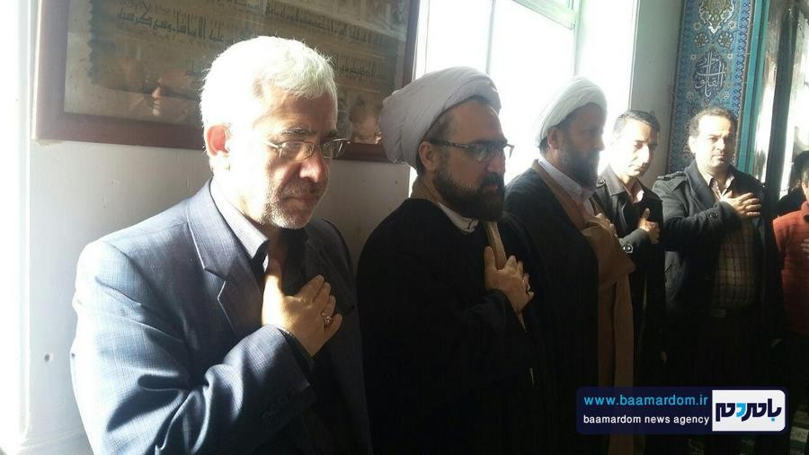 برگزاری مراسم گرامیداشت ارتحال حضرت آیت الله هاشمی رفسنجانی در اطاقور + تصاویر