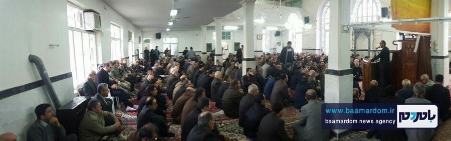 مراسم گرامیداشت هفتمین روز ارتحال حضرت آیت الله هاشمی رفسنجانی در مسجد اعظم شهرستان املش 10 - برخی دین و ایمان را می دهند تا نام و نانشان را حفظ کنند | آیت الله هاشمی با مقدس سازی اشخاص و افراد مخالف بود + تصاویر