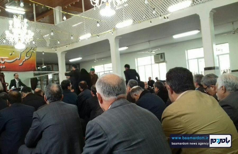 مراسم گرامیداشت هفتمین روز ارتحال حضرت آیت الله هاشمی رفسنجانی در مسجد اعظم شهرستان املش 2 - برخی دین و ایمان را می دهند تا نام و نانشان را حفظ کنند | آیت الله هاشمی با مقدس سازی اشخاص و افراد مخالف بود + تصاویر