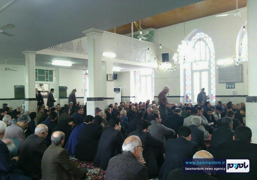 مراسم گرامیداشت هفتمین روز ارتحال حضرت آیت الله هاشمی رفسنجانی در مسجد اعظم شهرستان املش 3 - برخی دین و ایمان را می دهند تا نام و نانشان را حفظ کنند | آیت الله هاشمی با مقدس سازی اشخاص و افراد مخالف بود + تصاویر