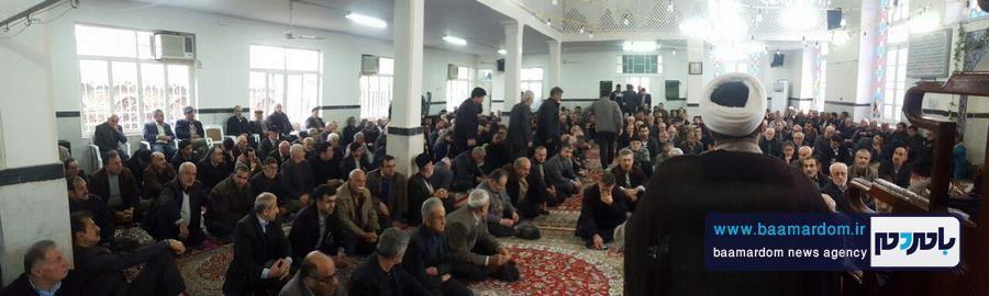 مراسم گرامیداشت هفتمین روز ارتحال حضرت آیت الله هاشمی رفسنجانی در مسجد اعظم شهرستان املش 4 - برخی دین و ایمان را می دهند تا نام و نانشان را حفظ کنند | آیت الله هاشمی با مقدس سازی اشخاص و افراد مخالف بود + تصاویر