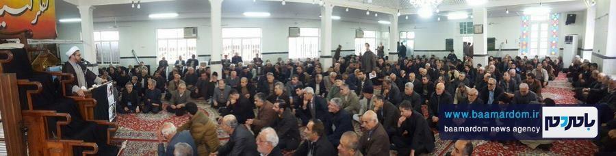 مراسم گرامیداشت هفتمین روز ارتحال حضرت آیت الله هاشمی رفسنجانی در مسجد اعظم شهرستان املش 7 - برخی دین و ایمان را می دهند تا نام و نانشان را حفظ کنند | آیت الله هاشمی با مقدس سازی اشخاص و افراد مخالف بود + تصاویر