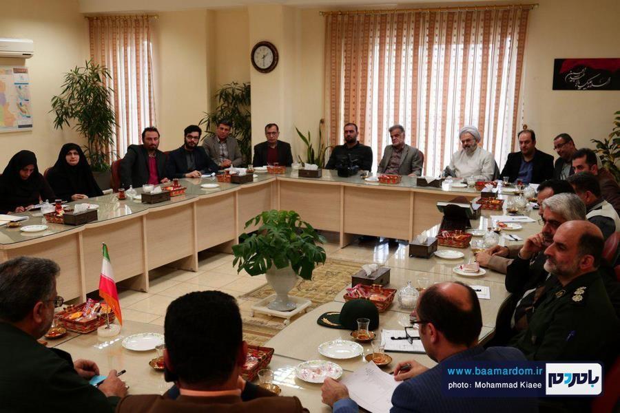 گزارش تصویری نشست مسوولان کمیته های ستاد دهه فجر شهرستان لاهیجان