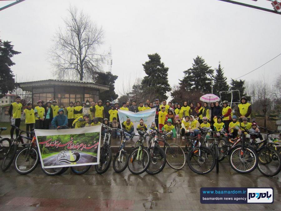 همایش بزرگ دوچرخه سواری عمومی رودسر برگزار شد + گزارش تصویری