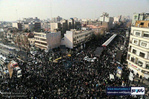 گزارش تصویری از مراسم تشییع آیت الله هاشمی رفسنجانی