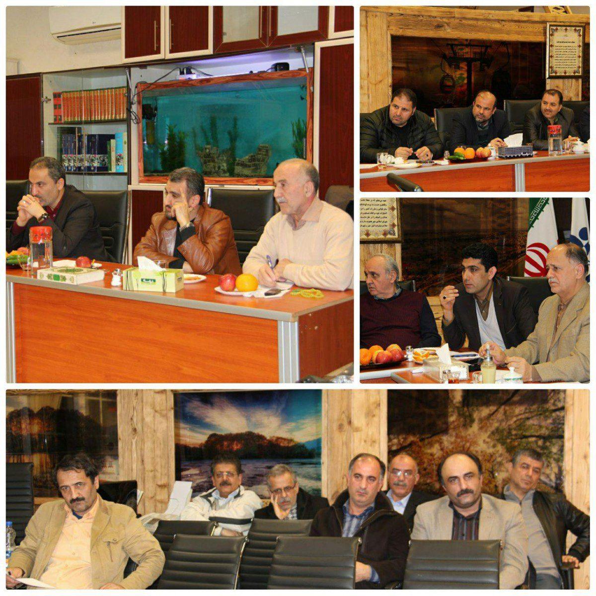 پنجاه و یکمین جلسه شوراي شهر لاهیجان تشکیل شد + عکس